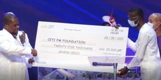 Cedar Mountain supports Citi FM's dormitory project at BASCO orphanage with GHS25,000