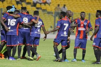 Watch highlights as Legon Cities come from behind to beat Liberty Professionals 2-1