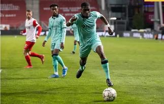 Ghanaian defender Derrick Kohn scores own goal in Dutch Eredivisie