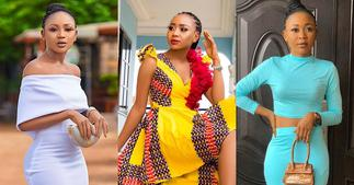 Akuapem Poloo 'runs away' from trouble; drops decent photos on Mother's Day ▷ Ghana news