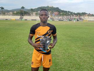 2020/21 GPL: David Abagna grabs MOTM award in Ashgold's draw with Eleven Wonders