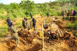 E/R: Residents clash with 'national security operatives' mining in Atewa Forest