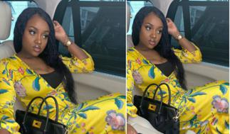 Davido's Ex-girlfriend Chioma Storms Ghana With Her Girls