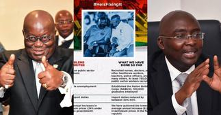 He Is Fixing It: Gov't drops tall list of things Akufo-Addo is currently fixing ▷ Ghana news