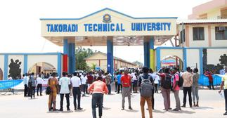 Students of Takoradi Technical University reject certificate