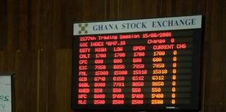 New gold advances while Cal Bank, MTN Ghana fall on declining rates