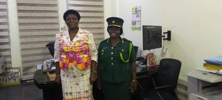 Chief Director of Interior Ministry welcomes new Immigration Commander for Greater Accra
