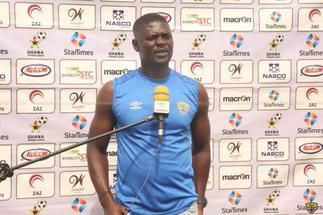 Hearts coach Samuel Boadu blames red card for defeat against Dreams FC