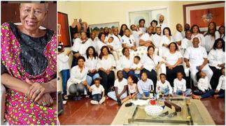 Beautiful Photo of 96-Year-Old Mum With 8 Children, 36 Grandkids & 43 Great Grandchildren Goes Viral ▷ Ghana news