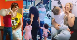 Nadia Buari: Actress' 4 Daughters line up with Special Mothers' Day gift for her; fans Stunned ▷ Ghana news
