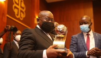 President redeems $5000 promise to Black Satellites after Youth Championship triumph