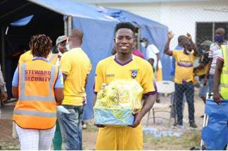 Rashid Nortey wins fans best player award