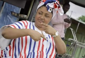 Photos of Matilda Asare Campaigning for NPP Pops Up After She Stupidly Said There Is Nothing to Be Fixed in Ghana