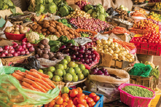 Low food prices push April inflation back to single digit