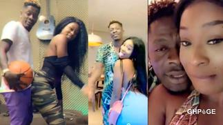 Efia Odo reveals why she's distanced herself from Shatta Wale