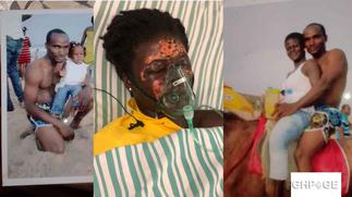 Man who bathed his wife with acid jailed for 10 years