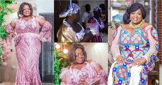 Mercy Asiedu excited as family and friends throw surprise party to mark her 50th birthday ▷ Ghana news