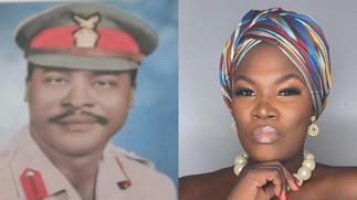 Anita Erskine's Father Lt General EA Erskine Passes on At 86 ▷ Ghana news