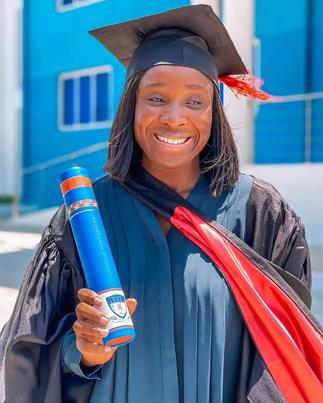 Naa Ashorkor Earns Master's Degree In Public Relations After Hard Work