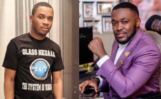 Twene Jonas 'fights' Osei Kwame Despite's son over 'more sleep' advice