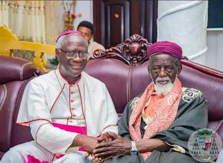 The Catholic Church Smokes Peace Pipe with Chief Imam