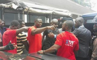 A/R: Delta Force members arrested for attempting to remove Security coordinator