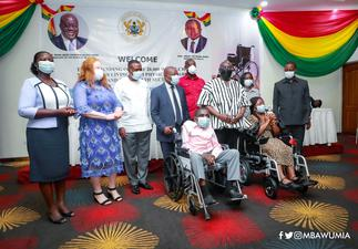20, 000 PWDs receive wheelchairs from Govt.