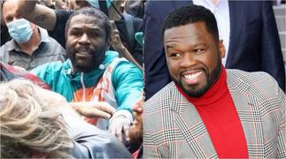 50 Cent 'Attacks' Floyd Mayweather After Fans Get To See His Hair During Brawl With Jake Paul ▷ Ghana news