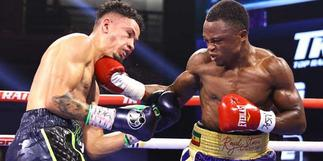 Isaac Dogboe defeats Adam Lopez in fiercely contested bout in Las Vegas [Video] » GhBasecom™