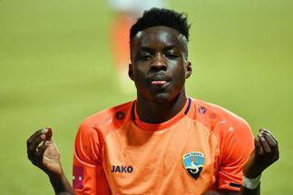 Prince Obeng Ampem after signing for HNK Rijeka