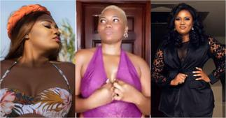 Abena Korkor drops jaws as she flaunts her natural curves and beauty in bedroom videos ▷ Ghana news