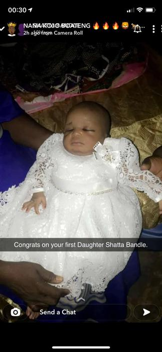 Shatta Bandle and His Daughter All Shades of Adorable as He Sings her a Lullaby- VIDEO
