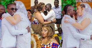 Patapaa celebrates wife's birthday with beautiful photos ▷ Ghana news