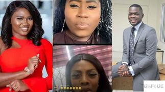 Lydia Forson and Nana Aba Anamoah blast trolls on live video over Kojo Yankson affair