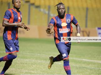 Legon Cities forward Hans Kwoffie vows to score against Hearts of Oak