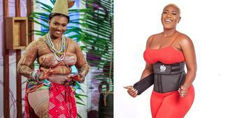 Victoria Lebene: 7 photos of Nkonkonsa's wife that show why he snubs Abena Korkor for her ▷ Ghana news