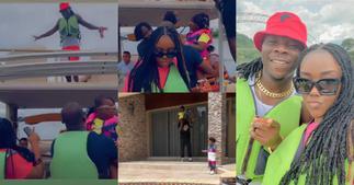 Stonebwoy, Louisa, Jidula Chill On Weekend Vacation At Royal Senchi; Lovely Video And Photos Drop ▷ Ghana news