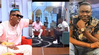 Shatta Wale clashes with Arnold on UTV after he was described as confused and inconsistent [Video] » GhBasecom™