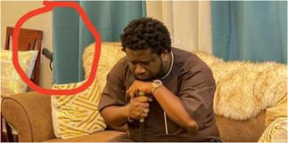 Prophet Ajagurajah spotted with gun in his room and people are wondering why a man of God who tells members to call on God for protections owns gun » GhBasecom™