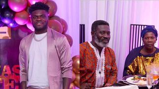 Thomas Partey shows off parents for the very first time to mark his birthday [Photos] » GhBasecom™