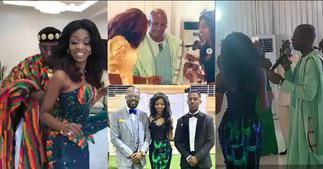 Here Are Some Beautiful Scenes From The Weeding Of Rex Omar's Pretty Daughter