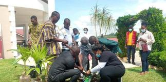 Kufuor participates in national tree planting exercise
