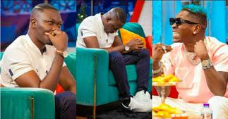 Arnold Asamoah Reveals How Much He Earns After Shatta Wale Called Him Poor On UTV
