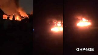 Just In: Fire guts Accra Academy again, another Hall burnt