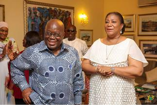 First Lady celebrates President Akufo-Addo on Fathers' Day » GhBasecom™