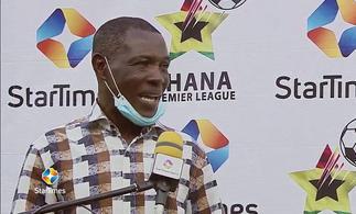 Karela United coach Evans Adotey commend players despite defeat to Kotoko