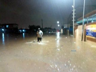 Baby washed away in Kumasi after Wednesday evening rains
