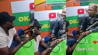 Rapper Gambo gifts Ayitey Powers GHS1,000 hearing his sad story