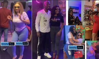 Celebrities and media colleagues converge to celebrate Nana Aba's birthday in epic style