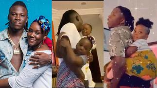 Dr Louisa celebrates Stonebwoy on Father's Day with this lovely video » GhBasecom™